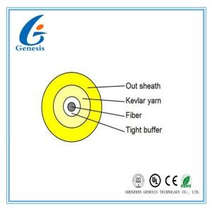 Runder Simplexlichtwellenleiter-Innen1 Kern-Monomode-/in mehreren Betriebsarten für Innen