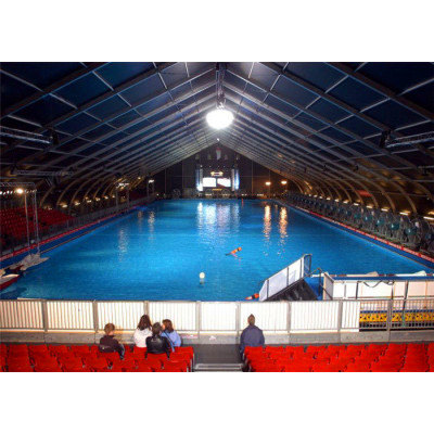 Curve marquee tent for Swimming pool in size 15x30m 15m x 30m 15 by 30 30x15 30m x 15m
