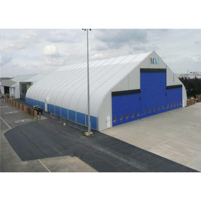 Curve marquee tent for tennis court in size 20x30m 20m x 30m 20 by 30 30x20 30m x 20m