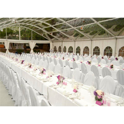 Clear Arcum Marquee Tent  For Banquet Hall  200 People Seater Guest