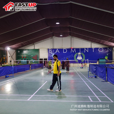 Big aluminum frame PVC marquee tent for sports football tennis court badmintion field