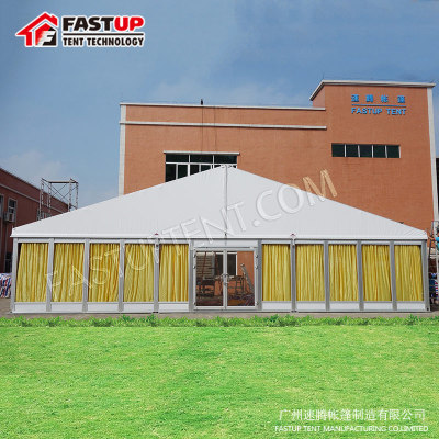 Glass Wall ABS Wall Wedding Party Event Tent 20X60M 20 By 60 60X20 60M X 20M