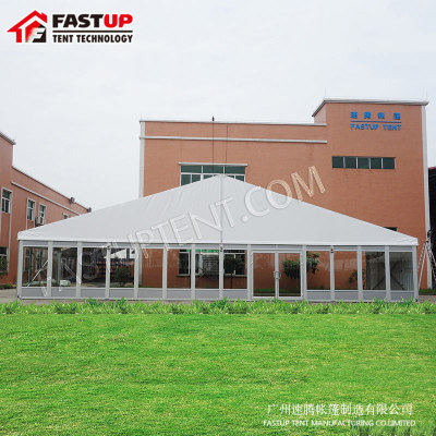 2017 Wedding Party Event Tent For 200 People with glass wall