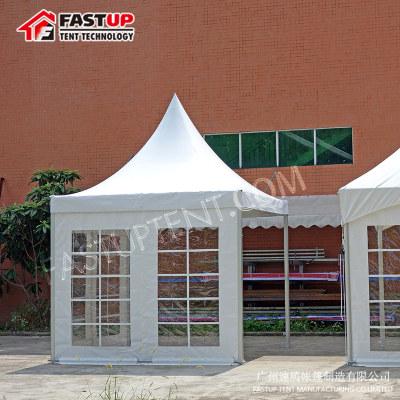Clear Tent Transparent High Peak Pagoda Tent
