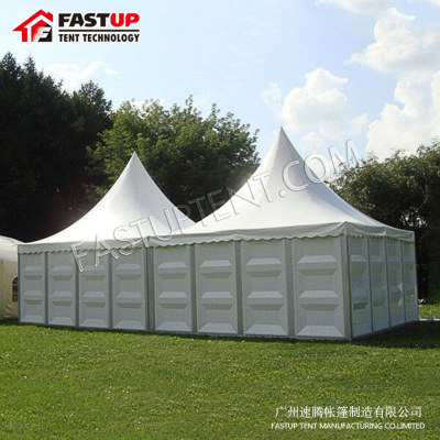 Clear Tent Transparent High Peak Pagoda For Party