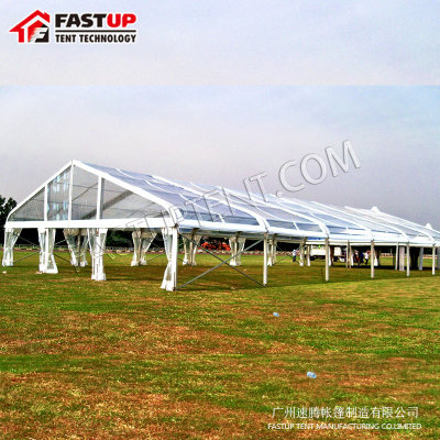 Clear Curve Marquee Tent for Tennis Court 20x40m 20 by 40 40m x 20m