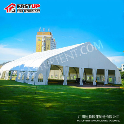 Curve marquee tent for ceremony 40x60m 40 by 60 60m x 40m