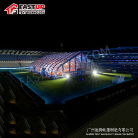 Curve marquee tent for Sports event in size 30x60m 30 by 60 60m x 30m