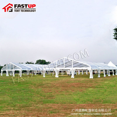 Aluminum Pvc Curve Marquee Tent For Conference 2000 People Seater Guest