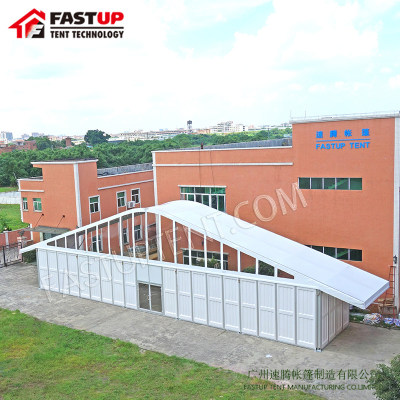 Arch Tent Event Arcum Tent with ABS wall for Sale in Fastup Tent Factory