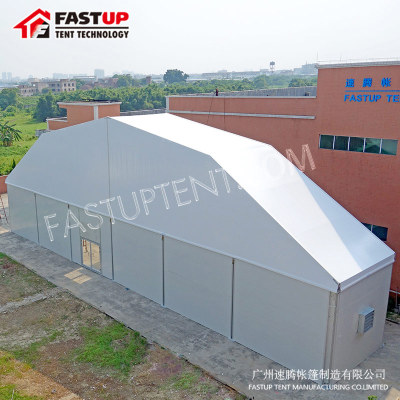 White Polygon Roof Marquee Tent For Festival