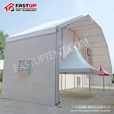 Clear Polygon Roof Marquee Tent For Banquet Hall