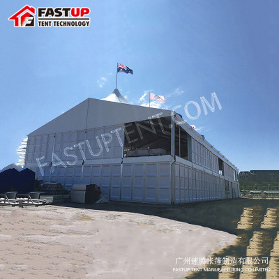 Clear Double Decker Marquee Tent for Wedding