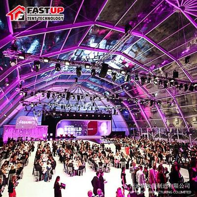 Transparent Polygon Roof Marquee Tent For Party