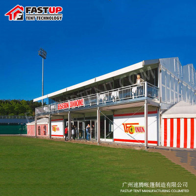 New Designed White Double Decker Marquee Tent for Catering