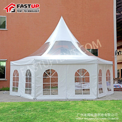 Supplier Solid Wall Hexagon Tent For New Product Show