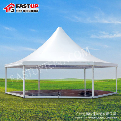 Hot Sale Glass Hexagon Tent For Church