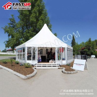 Clear Polygon Roof Marquee Tent For Wedding
