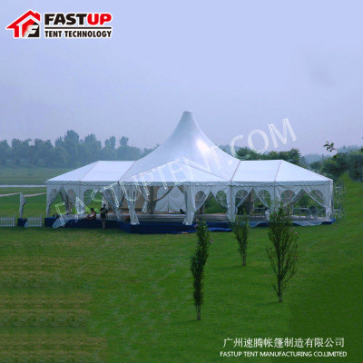 High Peak Mixed Marquee Tent For Church For 250 People Seater Guest