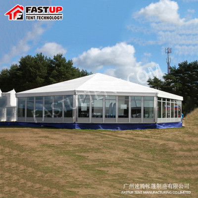 New Design White Multi Side Tent For Catering
