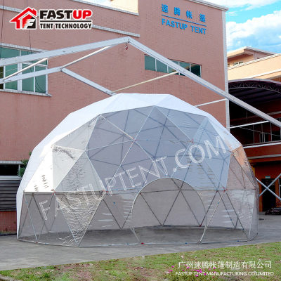 Outdoor Geodesic Event Dome Tent for Camping Exhibiton