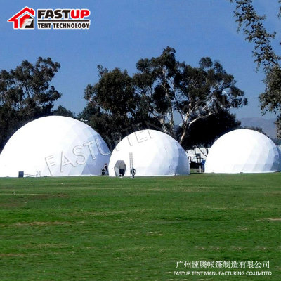 High Quality Geodome Diameter 18M Geodesic Dome Tent For Brand Ceremony