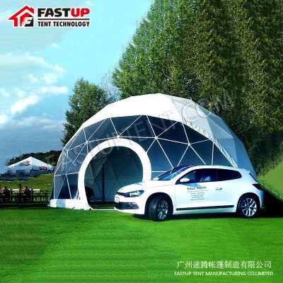 Second Hand Dome Tent Diameter 14M Geodesic Tent For Car Show