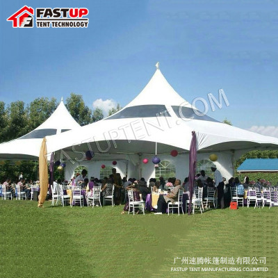 New Design White Pinnacle Tent For Trade Show