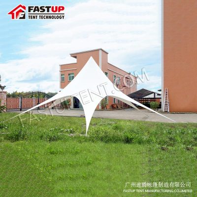 Supplier Aluminum Star Shade Tent For Banquet