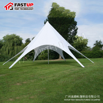 China Manufacturer White Star Shade Tent For Festival