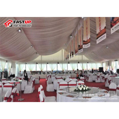From China Wedding Party Event Shelter For 2000 People Seater Guest