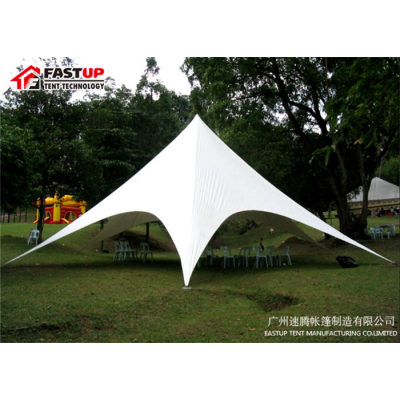Good Quality White  Star Shade Tent For Wedding