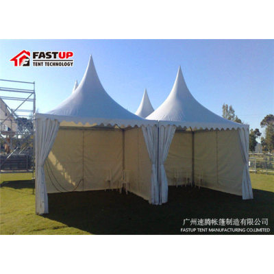 Popular Aluminum Frame High Peak Pagoda Tent