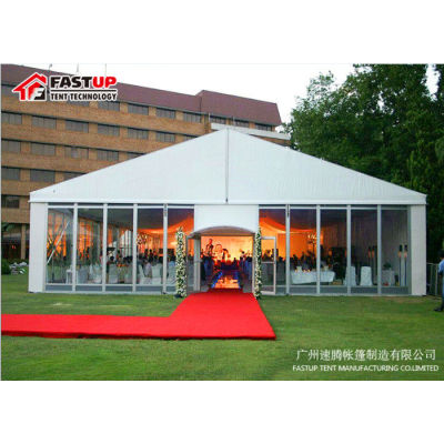 Wedding Party Event Shelter 15X40M 40M X 15M with glass wall