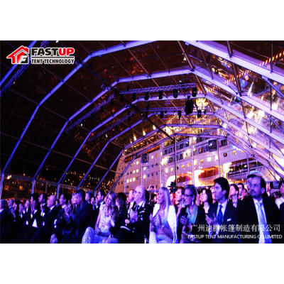 Polygon Roof marquee tent  for ceremony  in size 20x100m 20m x 100m 20 by 100 100x20 100m x 20m