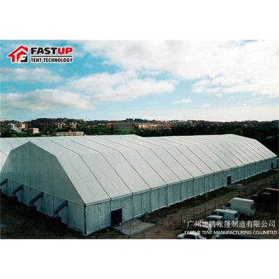 Polygon Roof marquee tent  for Temporary workshop  in size 20x50m 20m x 50m 20 by 50 50x20 50m x 20m