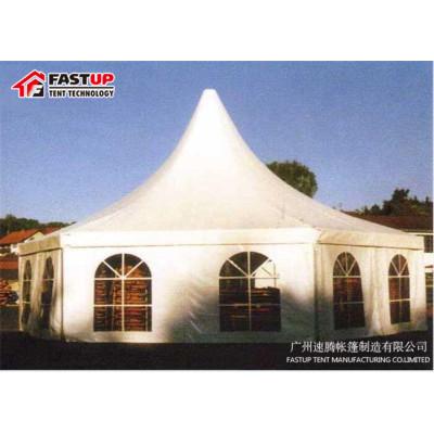 Best Aluminum  Hexagon Tent For Event  Diameter  8M 60 People Seater Guest