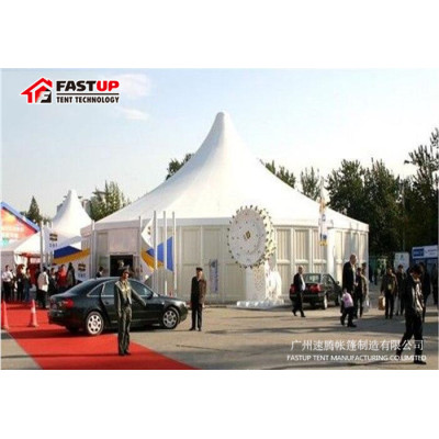 High Quality Modular Hexagon Tent For Festival  Diameter  10M 100 People Seater Guest