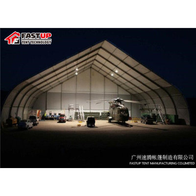 Curve marquee tent for Mobile airplane hanger in size 35x50m 35m x 50m 35 by 50 50x35 50m x 35m