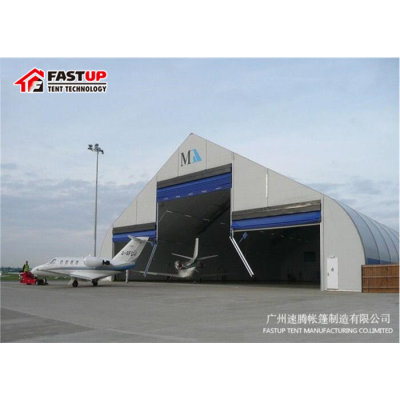 Curve marquee tent for Mobile airplane hanger in size 35x40m 35m x 40m 35 by 40 40x35 40m x 35m
