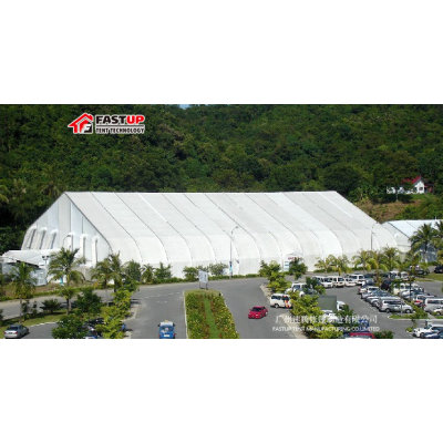 Curve marquee tent for Ice skating rink in size 30x50m 30m x 50m 30 by 50 50x30 50m x 30m