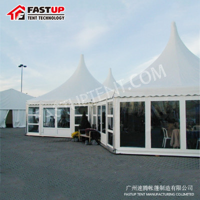 Made In China Clear Top Hexagon Tent For Marriage