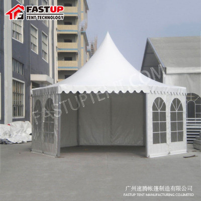 Manufacturer Clear Hexagon Tent For Real Estate Opening Diameter 12M 200 People Seater Guest