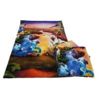 Wholesale Cheap Supplies Custom logo Printed Cotton face towel