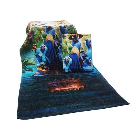 Hot Sale Custom Beach Towel With Birds Printing for Kids
