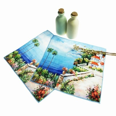 Best Quality Cotton Digital Printed Hand Towel