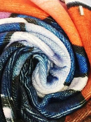 Factory Best Price Printed 100% cotton 70*140cm bath Terry towel