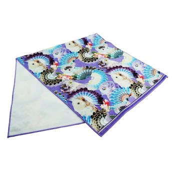wholesale 100% cotton digital printed soft face towel super cheap