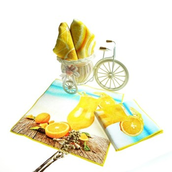 China supplier printed cotton baby hand towel trade