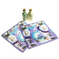 OEM personalize style hand printed custom towel